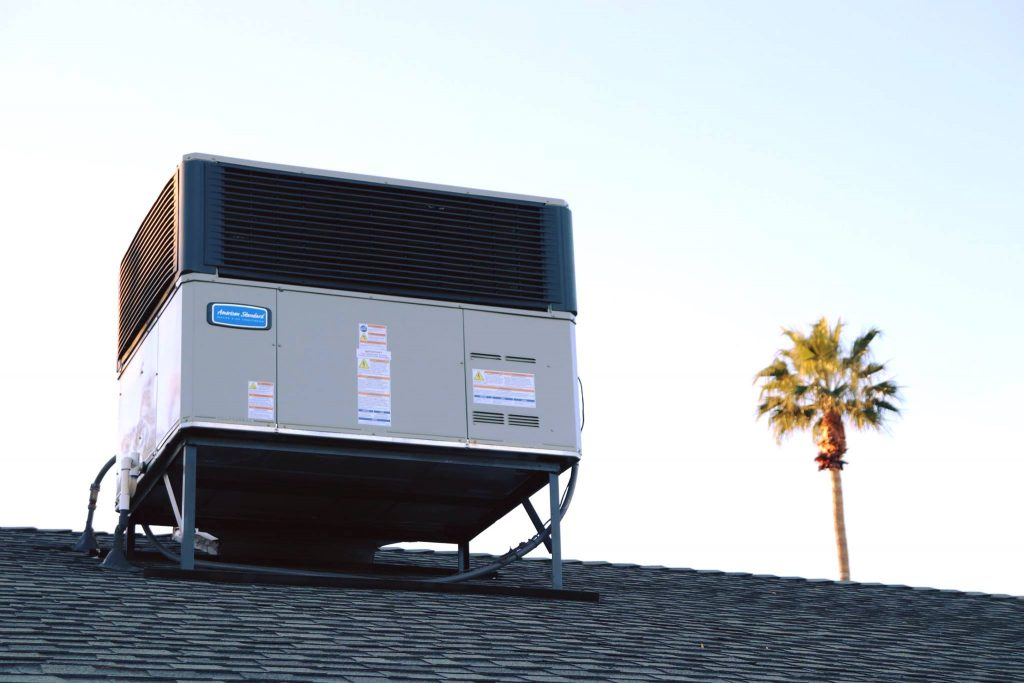 rooftop package hvac unit