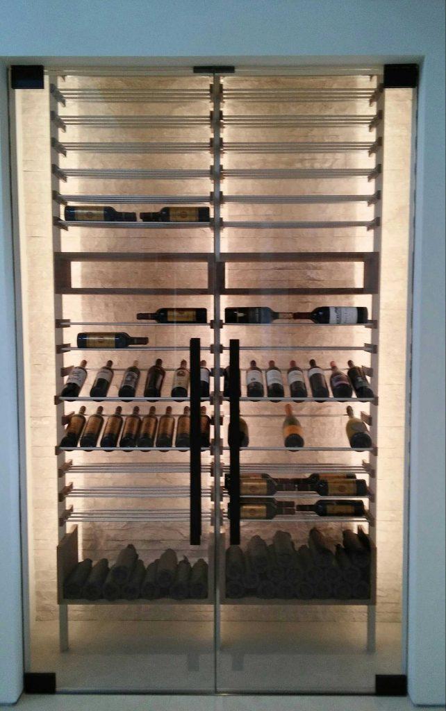 wine chiller installation